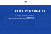 Transparent introductif de la série des NOTES D'INFORMATION