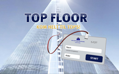 TOP FLOOR – Kom helt til tops!