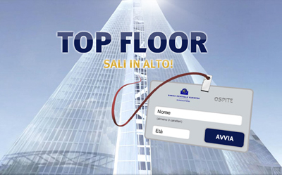 TOP FLOOR: sali in alto!