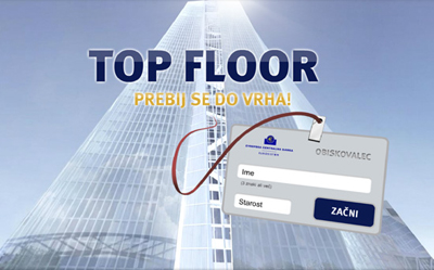 TOP FLOOR – Prebij se do vrha!