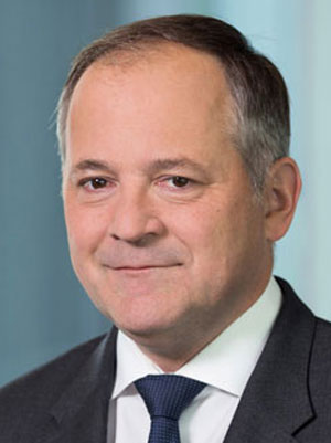 Portrait of Benoit Coeuré, Member of the Executive Board of the European Central Bank
