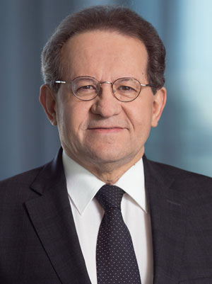 Portrait of Vítor Constâncio, Member of the Executive Board of the European Central Bank