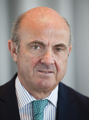 Portrait of Luis de Guindoso, Vice-President of the European Central Bank