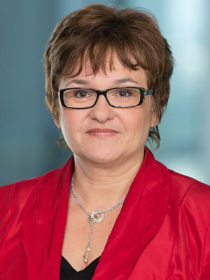 Portrait of Sabine Lautenschläger, Member of the Executive Board of the European Central Bank