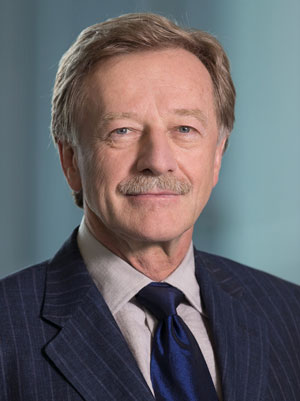 Portrait of Yves Mersch, Member of the Executive Board of the European Central Bank