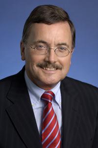 Porträt von Jürgen Stark, Mitglied des Direktoriums der Europäischen Zentralbank