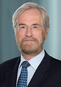 Portrait of Peter Praet, Member of the Executive Board of the European Central Bank