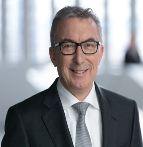 Portrait of Michael Diemer, Chief Services Officer of the Executive Board of the European Central Bank