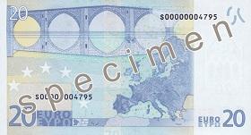 20 Euro rear