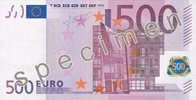 500 euron setelin etusivu