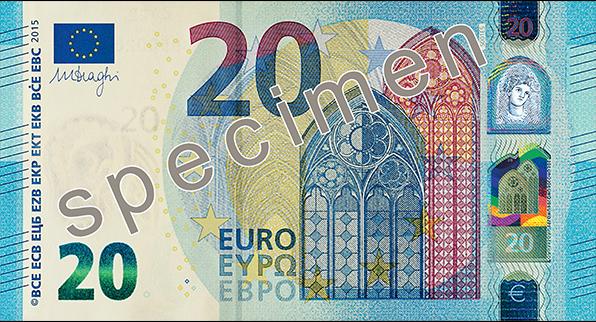 Nuevo billete de 20 €