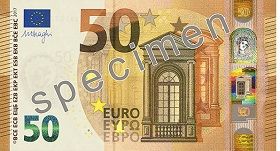 50 Euro front