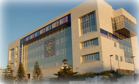 Euroaffischer pryder Central Bank of Cyprus