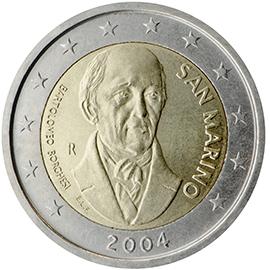 2 Gedenkmunzen 2004