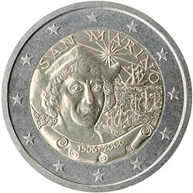 <p>San Marino:</p><p>V centenario de la muerte de Cristóbal Colón</p>