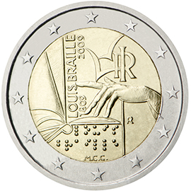 €2 commemorative side