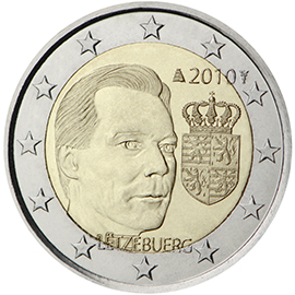 2 € monetos proginė pusė