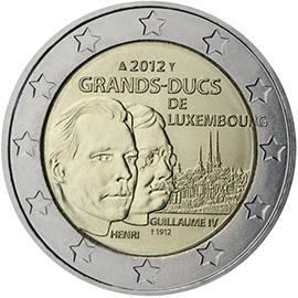 <p>Luxemburgo:</p><p>El gran duque Enrique y el gran duque Guillermo IV, de la serie «dinastía gran ducal»</p>
