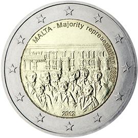 <p>Malta:</p><p>Representación mayoritaria, 1887</p>