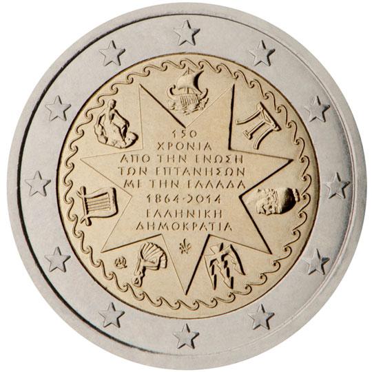 €2 commemorative side