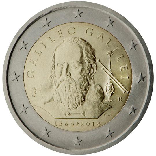 <p>2014:</p><p>450º aniversario del nacimiento de Galileo Galilei (1564)</p>