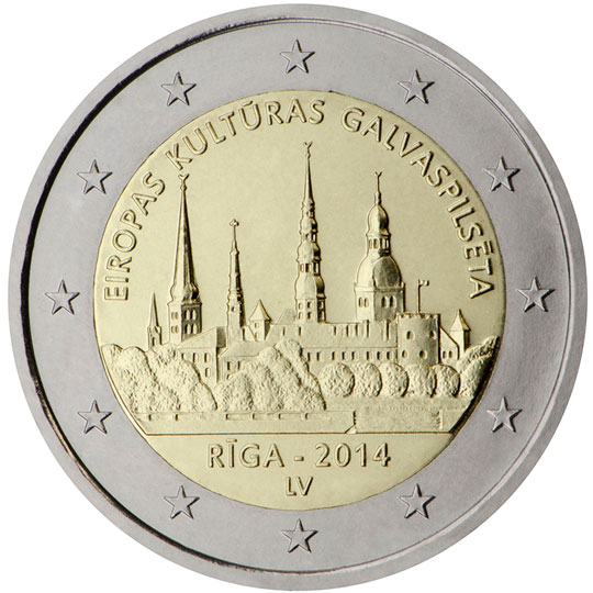 <p>Letonia:</p><p>Riga — Capital Europea de la Cultura 2014</p>