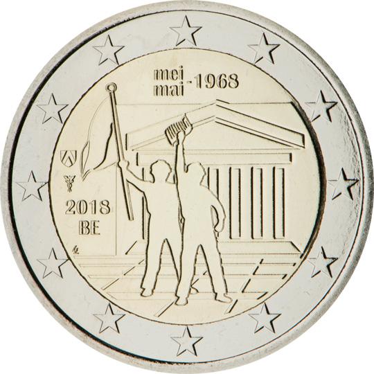 <p>2018:</p><p>El 50º aniversario de los acontecimientos de mayo del 68 en Bélgica</p>