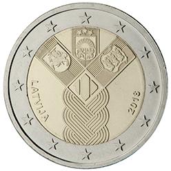 <p>Letonia:</p><p>La creación de los Estados de Estonia y Letonia y el restablecimiento del Estado de Lituania</p>