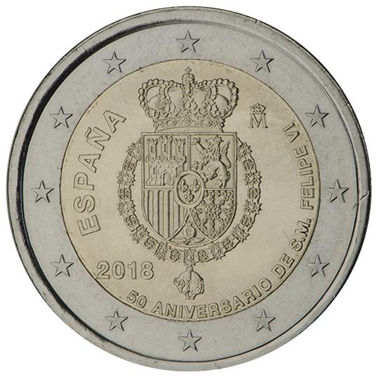 <p>2018:</p><p>50º aniversario del rey FELIPE VI</p>