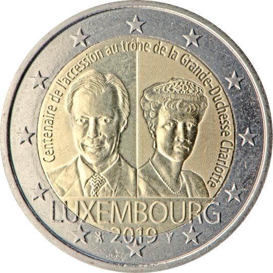 <p>Luxemburgo:</p><p>Centenario de la ascensión al trono de la Gran Duquesa Carlota</p>