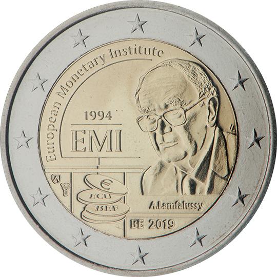 <p>2019:</p><p>25º aniversario del Instituto Monetario Europeo (IME)</p>