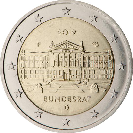 <p>Alemania:</p><p>70º aniversario de la fundación del Bundesrat</p>
