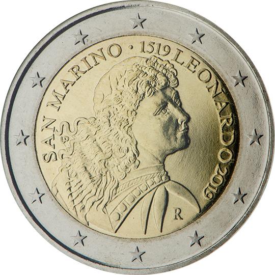 <p>San Marino:</p><p>500º aniversario de la muerte de Leonardo da Vinci</p>