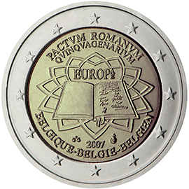 Joint €2 commemorative side 2007