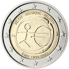 Joint €2 commemorative side 2009