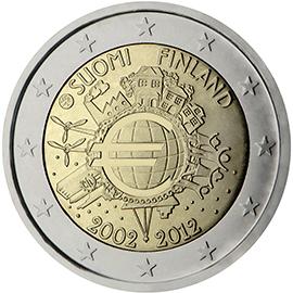 <p>Finlandia:</p><p>Diez años de billetes y monedas en euros</p>