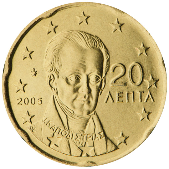 National sides - 20 cent
