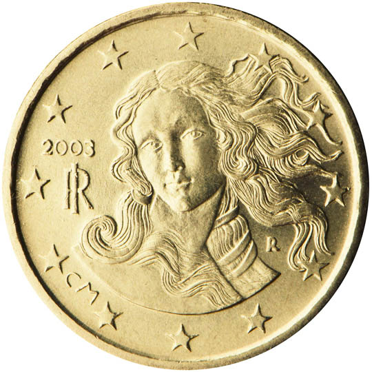 In Italy The Euro Coin Designs Were Subject To Scrutiny By A National Technical And Artistic Committee Before Being Presented To The Nation On Rai Uno