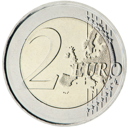€2 common side
