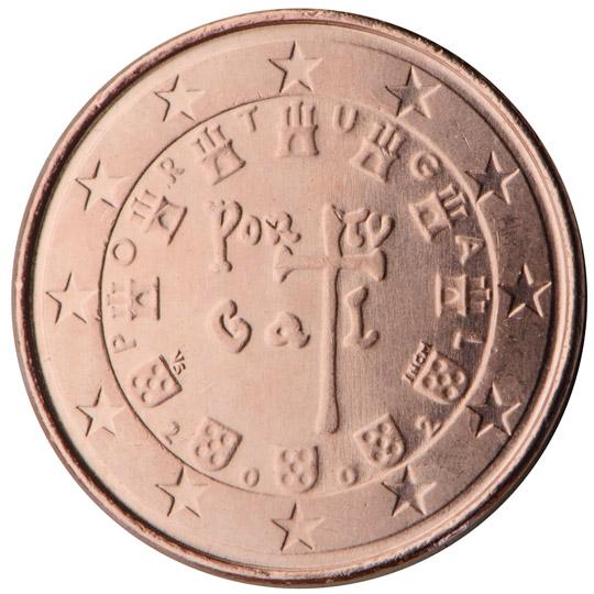 I Tre Simboli Che Compaiono Sulla Facciaonale Delle Monete Portoghesi Sono Stati Selezionati Attraverso Un Concorso Il Vincitore Vitor Manuel