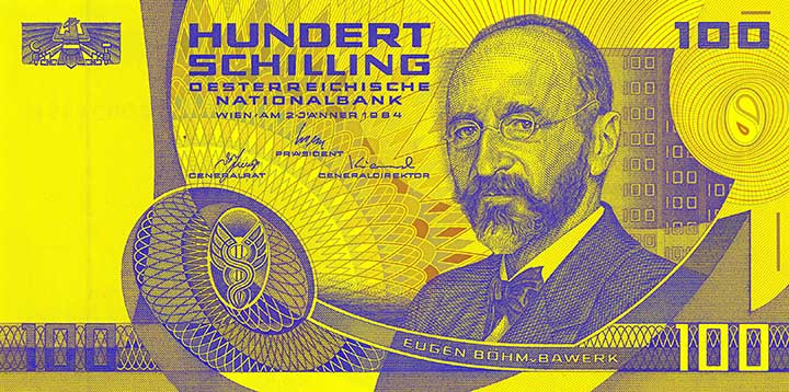 100-Schilling-Banknote