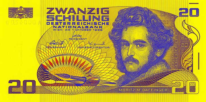 20-Schilling-Banknote