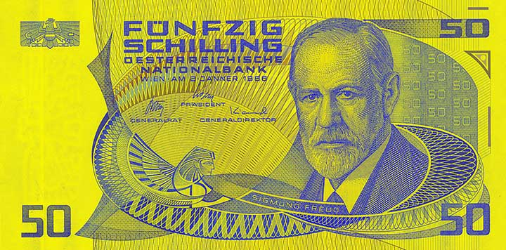 50-Schilling-Banknote