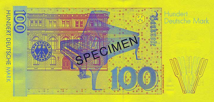 100 Deutsche Mark-biljet