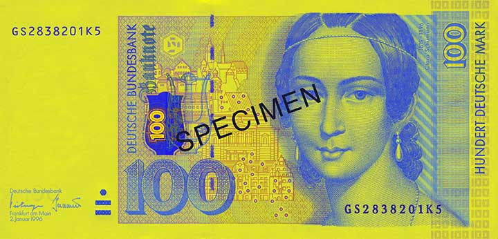 100-Deutsche-Mark-Banknote
