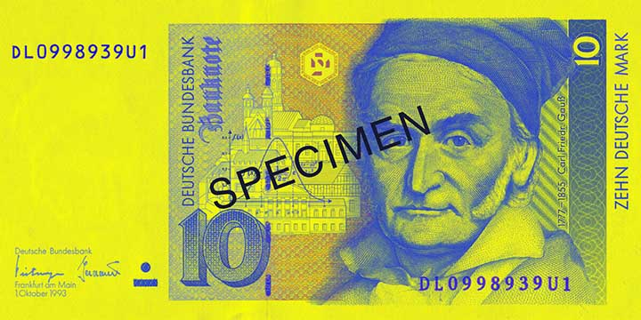 10-Deutsche-Mark-Banknote