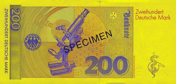 200 Deutsche Mark-biljet