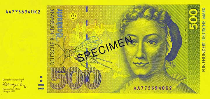 500-Deutsche-Mark-Banknote