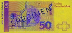 50 Deutsche Mark-biljet
