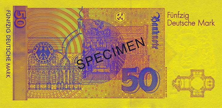 50-Deutsche-Mark-Banknote